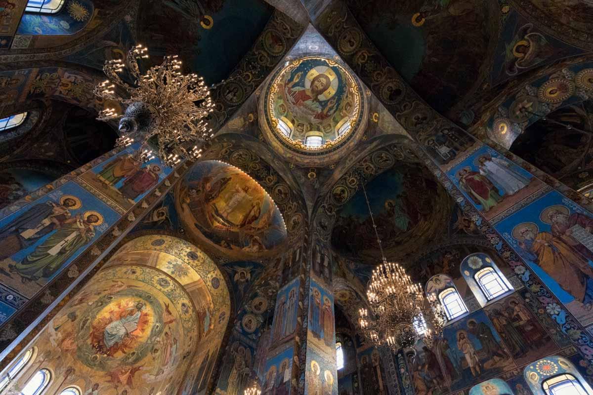 San Pietroburgo: Chiesa del Salvatore sul Sangue Versato