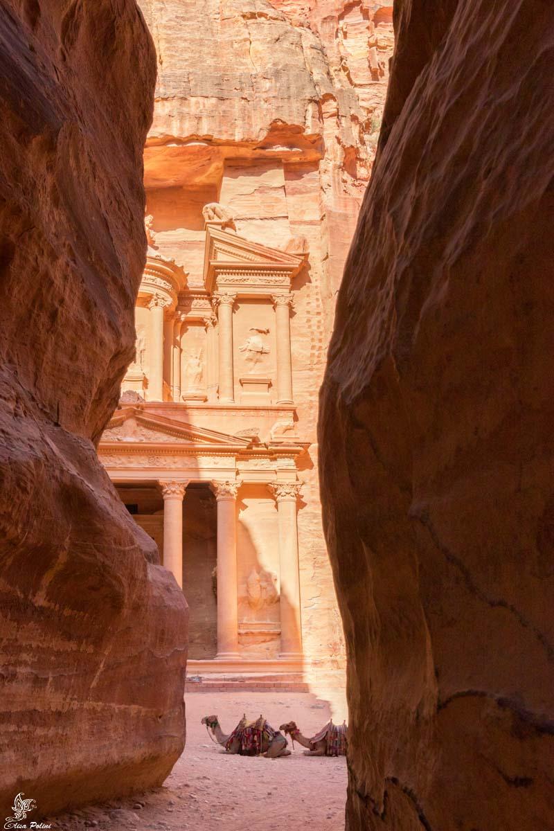 Giordania: il bellissimo Tesoro di Petra