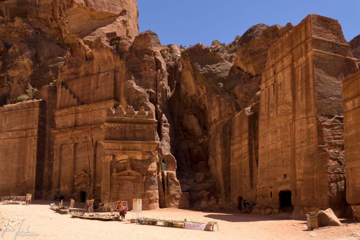 Petra: Strada delle Facciate