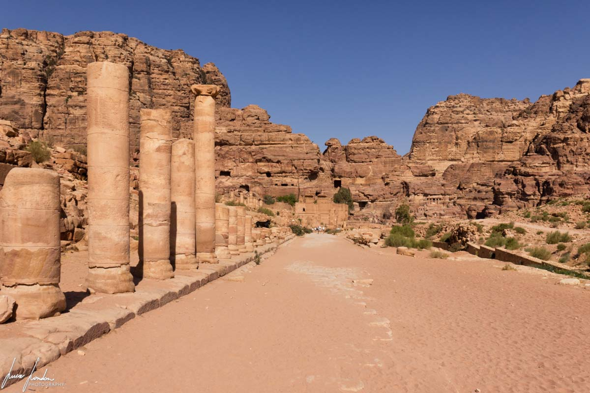 Petra: Strada Colonnata
