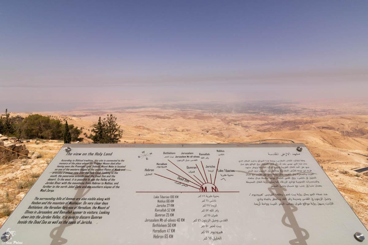 Giordania: Monte Nebo