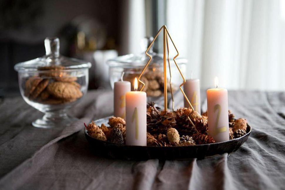Natale in Islanda: Aðventukrans