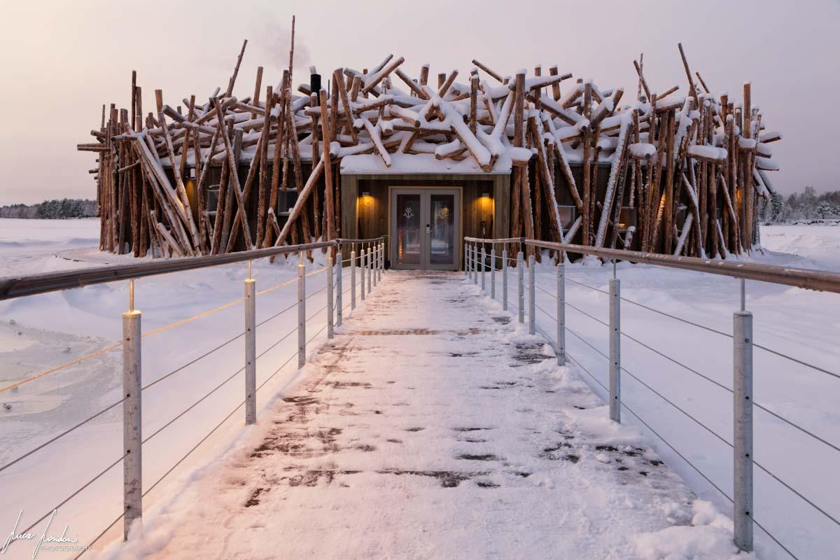 Arctic Bath: la struttura principale