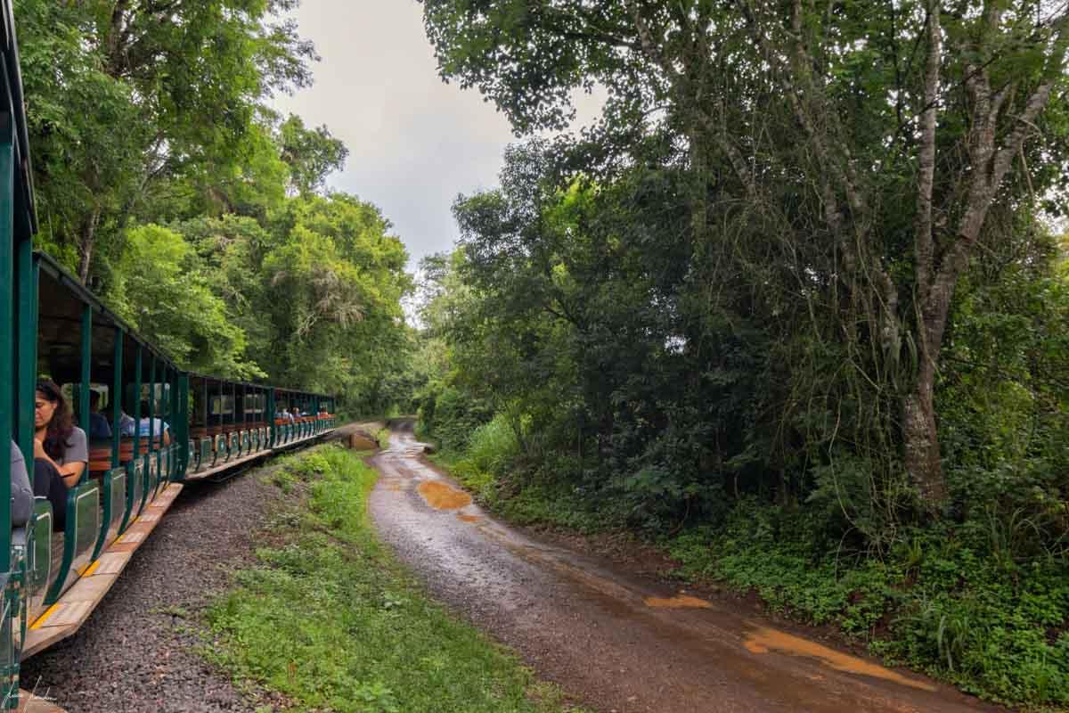 Cascate di Iguazu: Trenino ecologico