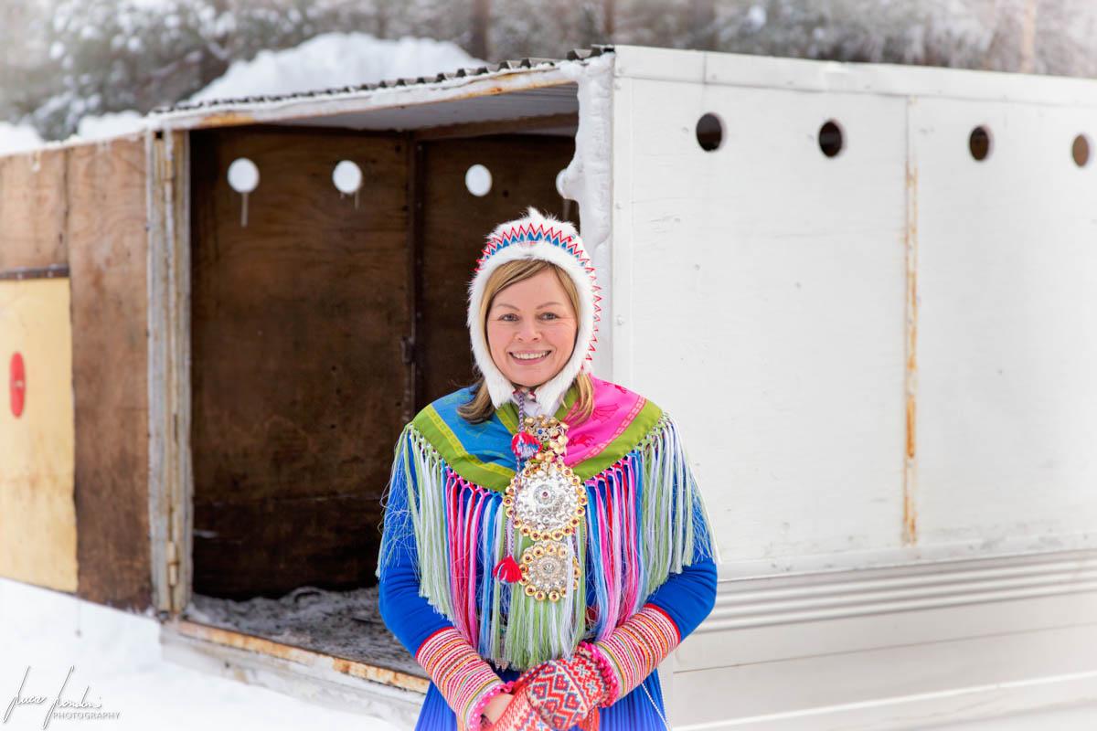 Jokkmokk Market: donna Sami