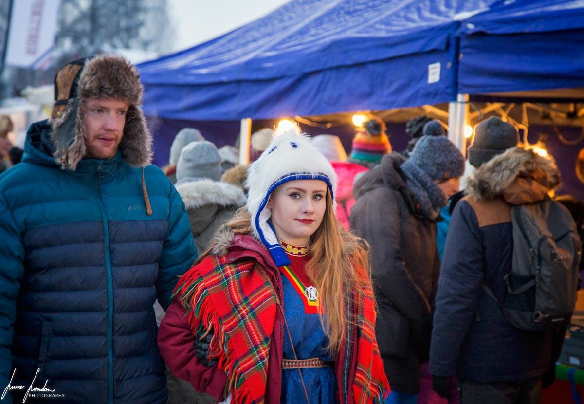 Jokkmokk Market: ragazza Sami