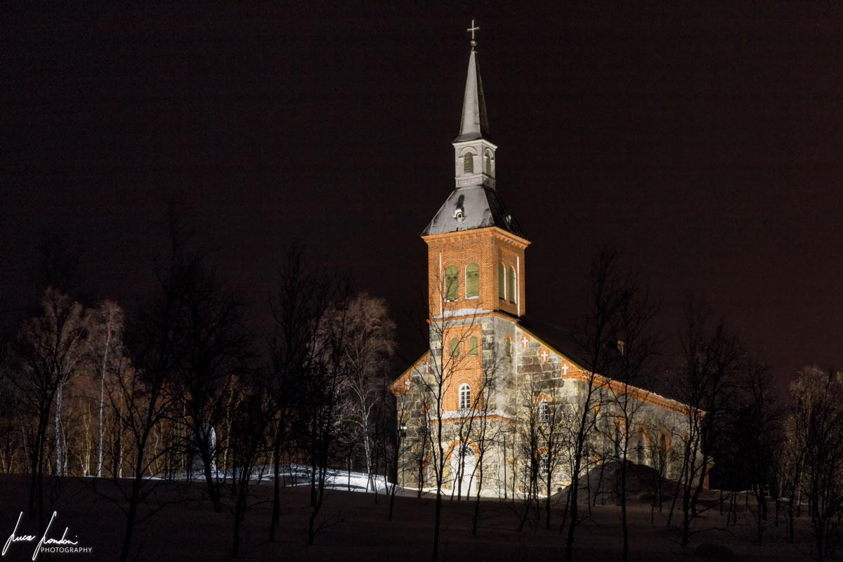 Villaggi Sami: Chiesa di Utsjoki