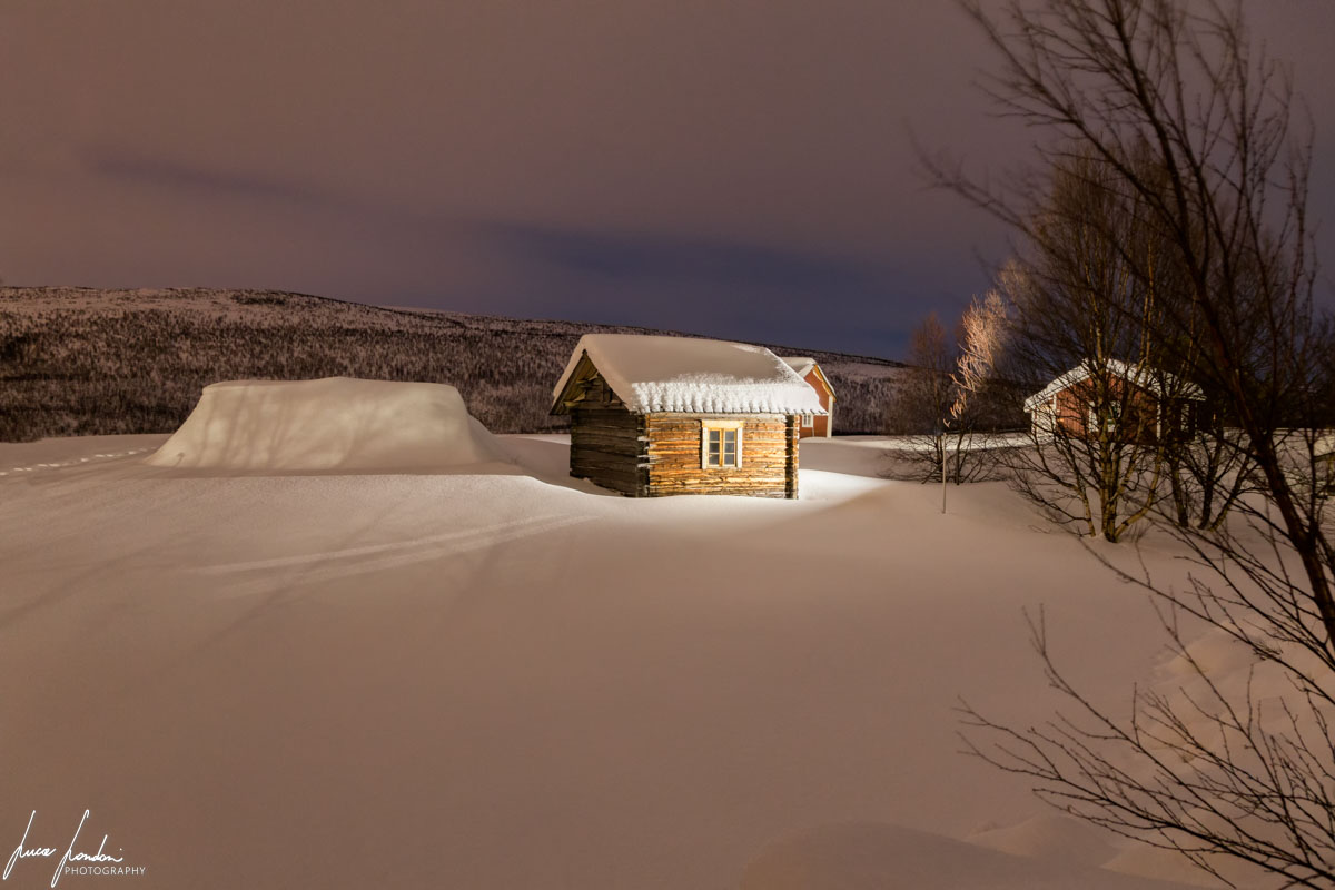 Villaggi Sami: case parrocchiali villaggio di Utsjoki