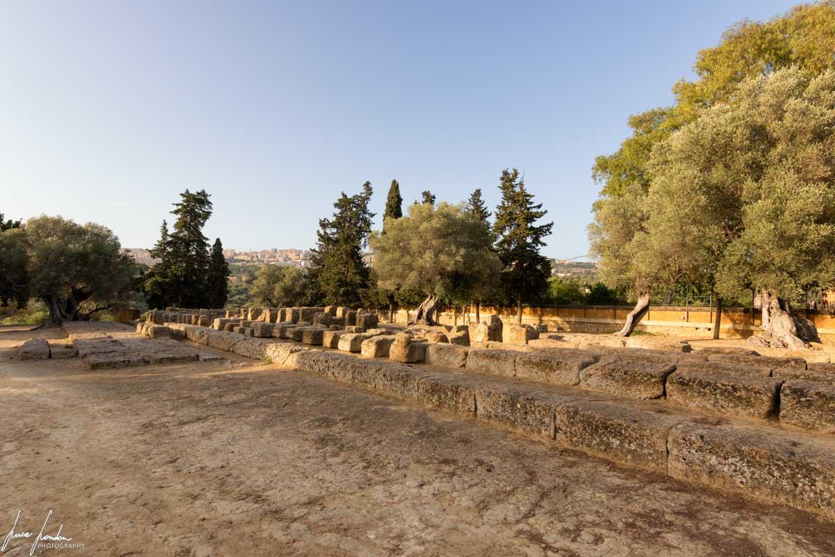 Valle dei Templi: Altare del Tempio di Zeus