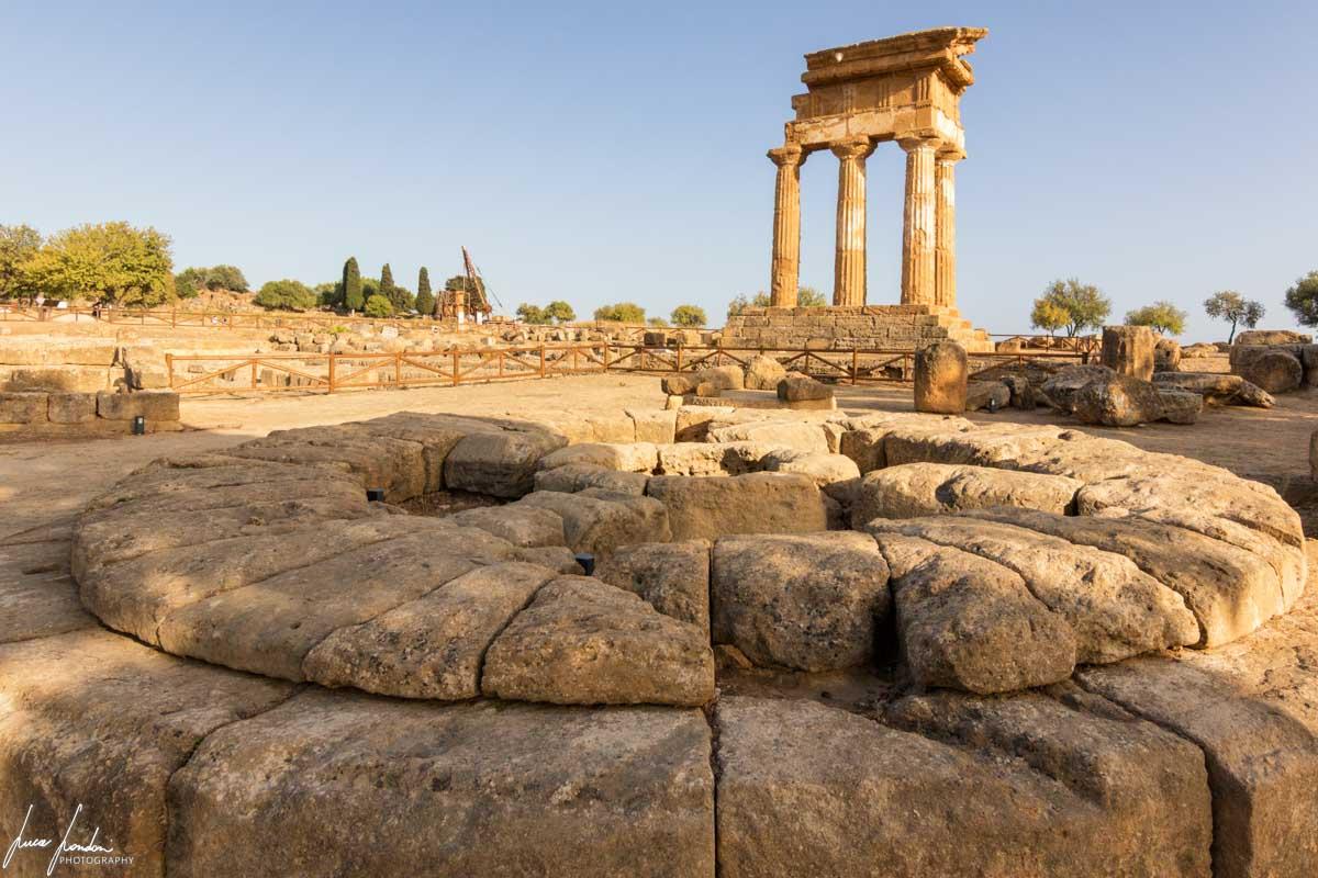 Valle dei Templi: Tempio dei Dioscuri