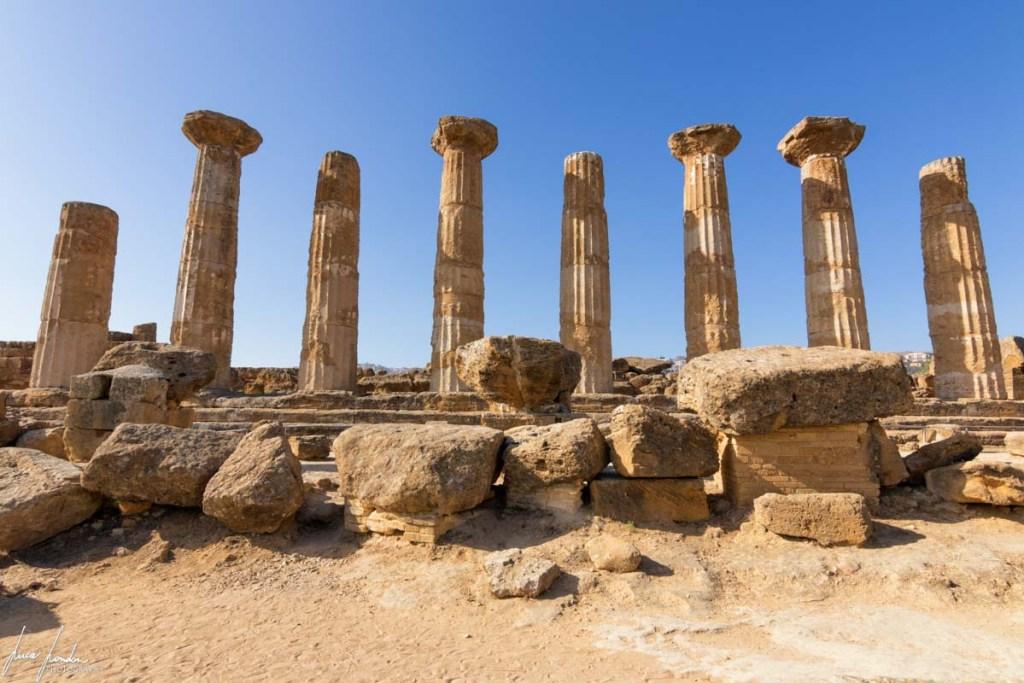 Valle dei Templi: Tempio di Ercole