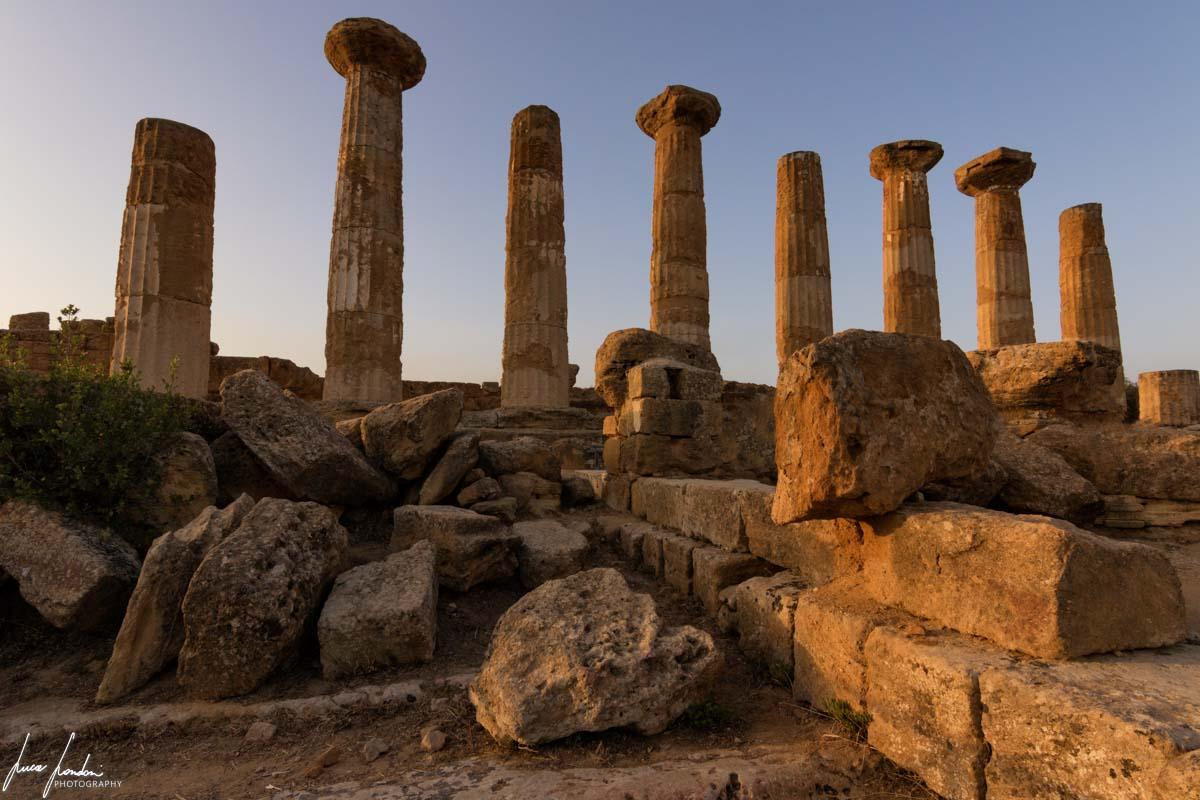 Valle dei Templi: Tramonto al Tempio di Ercole