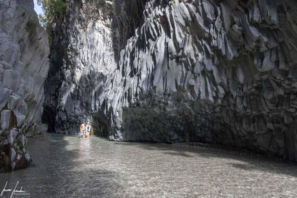 Formazioni laviche delle Gole dell'Alcantara