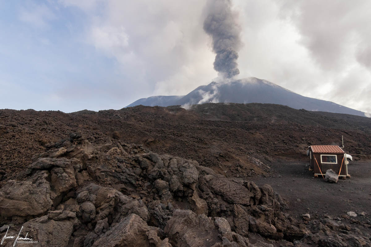 Vista panoramica sull'Etna
