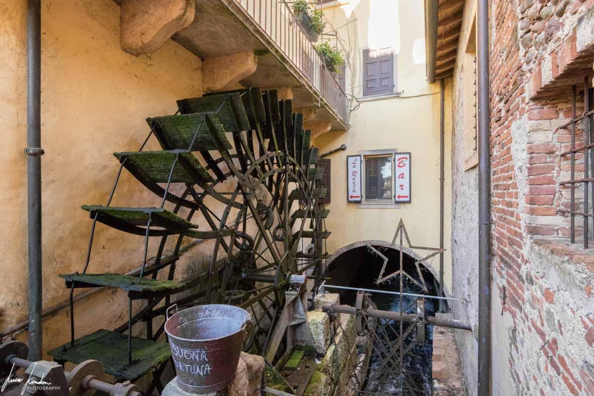 Mulino ad acqua a Borghetto sul Mincio