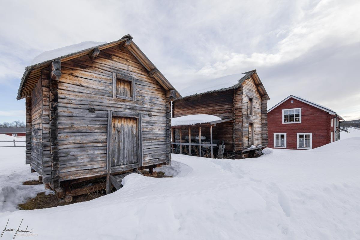 Vecchio villaggio di Jukkasjarvi