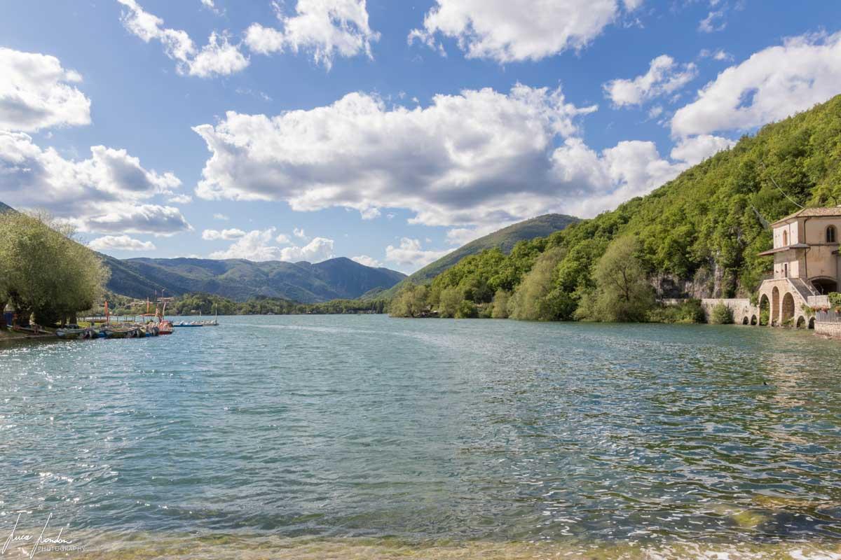 Lago di Scanno e Chiesa