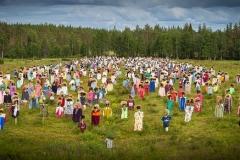 Silent People Finlandia dall'alto