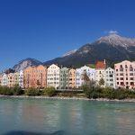 Innsbruck panorama dall'Inn