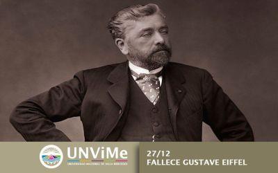 Día del fallecimiento de Gustave Eiffel