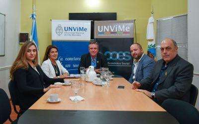 Firma de Convenio Marco con el Colegio de Ingenieros Agrónomos y profesionales afines de San Luis