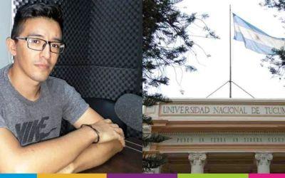 Movilidad estudiantil: estudiante de Bioingeniería viaja a Tucumán
