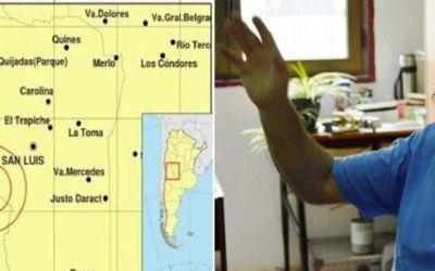 El mayor especialista en sismos de San Luis analiza los últimos temblores