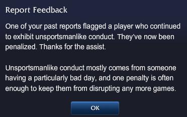 report feedback