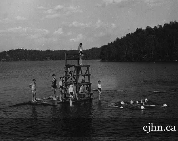 """""""Sunshine Camp, St. Marguerite, Lac Masson, Quebec."""" N.D. PC 01-05-046. Canadian Jewish Congress Collection. Alex Dworkin Canadian Jewish Archives. Used with permission."""