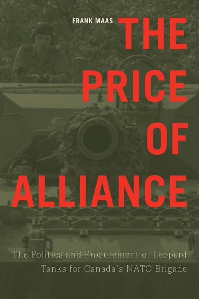 "cover of book by Frank Maas, ""The Price of Alliance"""