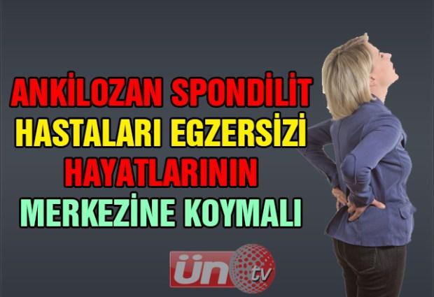 Ankilozan Spondilit Hastalarına Önemli Uyarılar!
