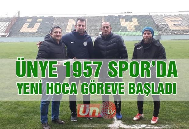 Ünye 1957 Spor, Önder Hocaya Emanet!