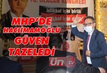 Başkan Hacıimamoğlu Güven Tazeledi