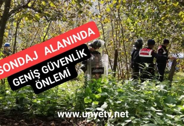 Sondaj Alanında Geniş Güvenlik Önlemi!