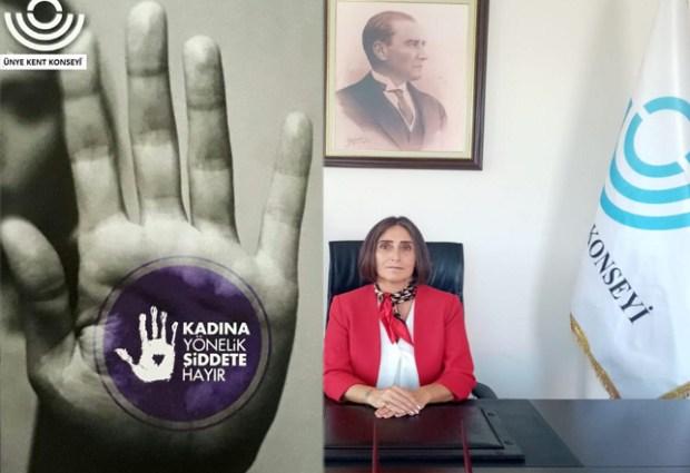 """""""Kadına Yönelik Şiddete Hep Birlikte Dur Diyelim"""""""
