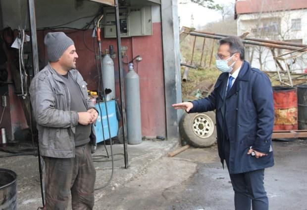 MHP'den Tekkiraz Ziyareti