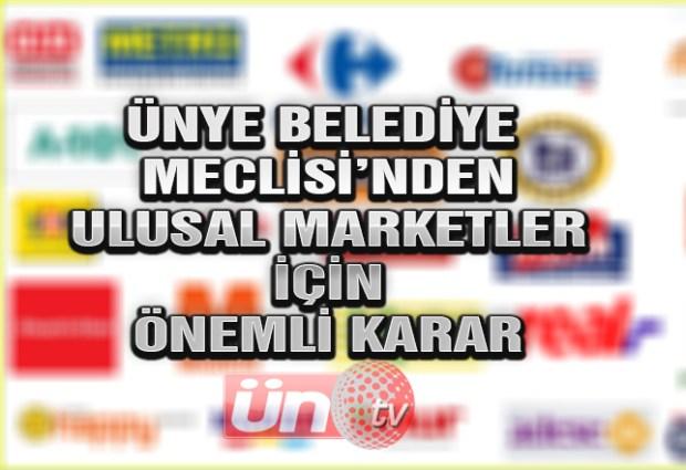 Ulusal Marketler İçin Önemli Karar!