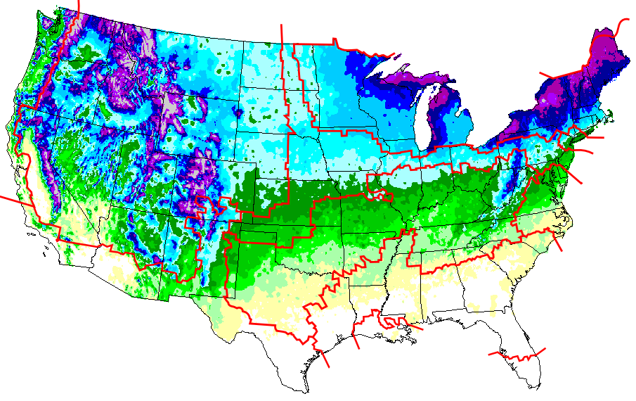 snowfall nations