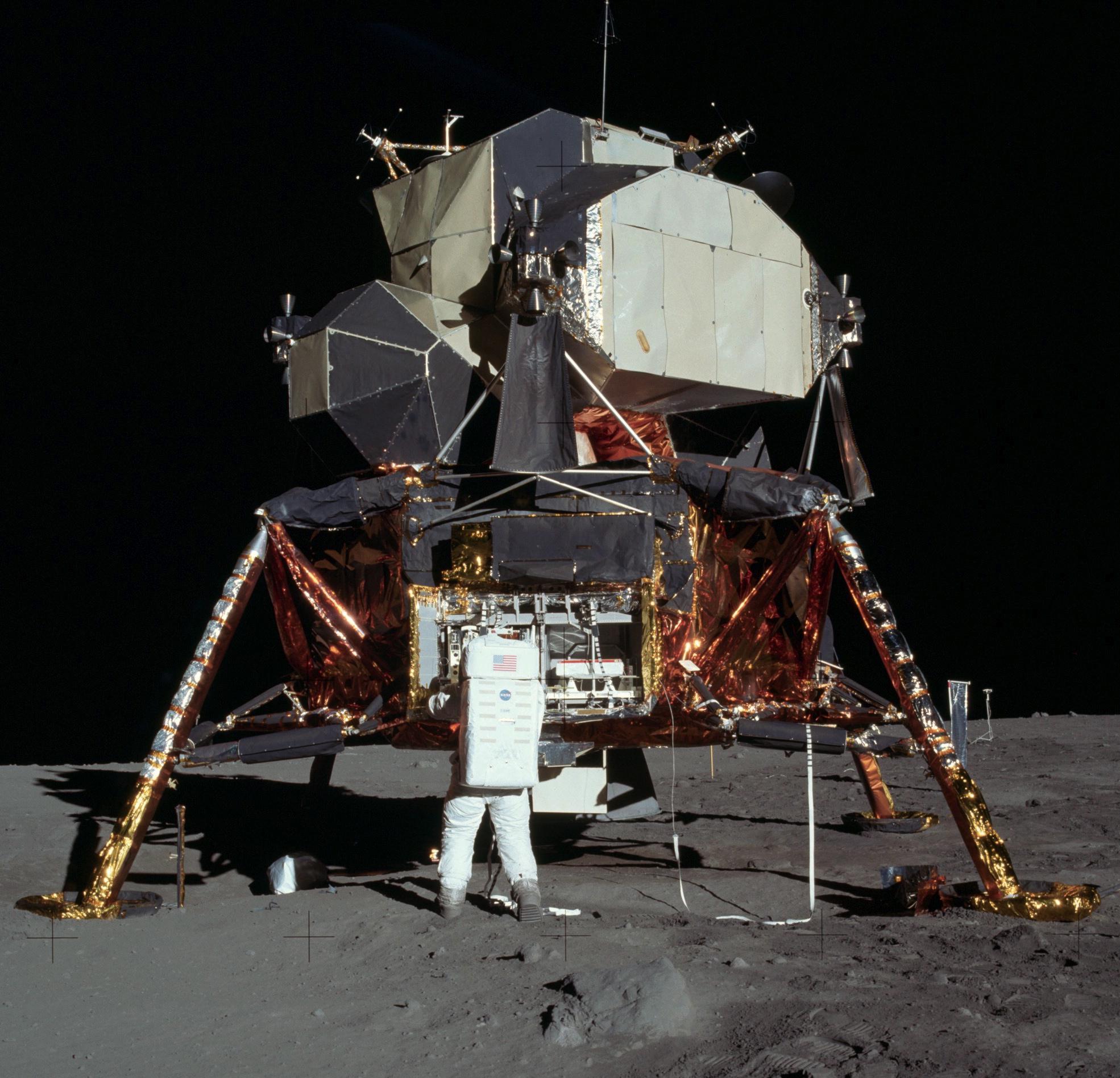 Apollo 11 Lunar Module with Neil Armstrong