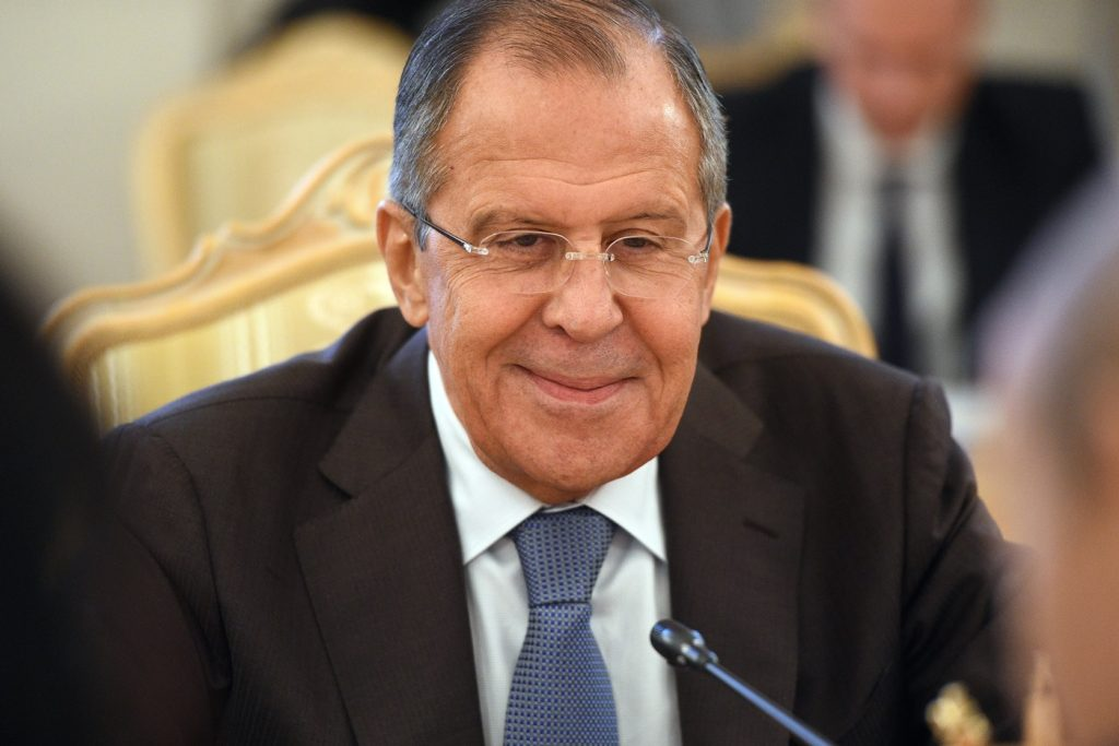 Lavrov reacting to the latest US threats