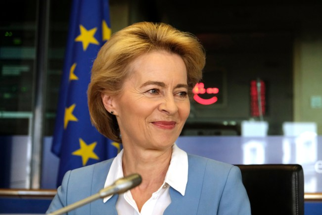 EU President Ursula von der Leyen is a nice lady (source: EC Audiovisual Service).