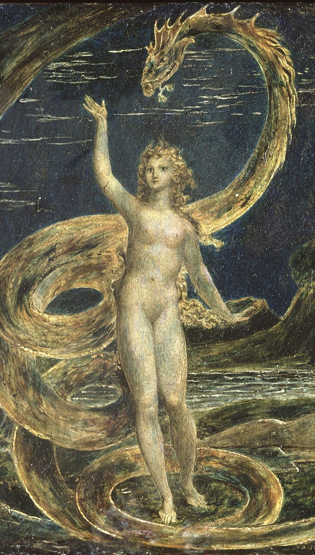 William Blakes gnostisch-romantische Vision der Schlange