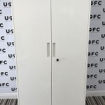 UOFC-2.1m-Tall-white-storage-cabinets-1