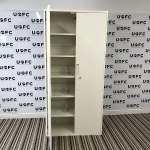 UOFC-2.1m-Tall-white-storage-cabinets-2
