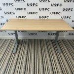 UOFC-Silver-Adjustable-Beam-Desk-OAK