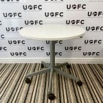 UOFC-Steelcase-White-Table-on-Wheels-1