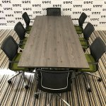 UOFC-Vitra-Adhoc-Boardroom-Table-With-a-NEW-Mountain-larch-top-1