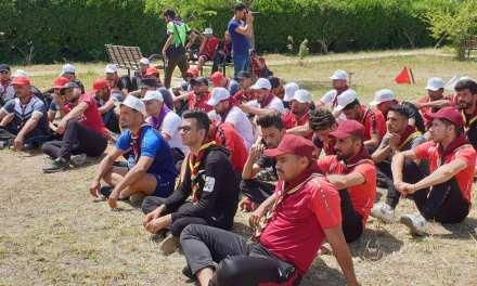 انطلاق فعاليات المخيم الكشفي السادس للجامعات العراقية بديالى