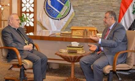 وزير التعليم يستقبل البطريرك لويس ساكو ويبحث معه التعايش السلمي في العراق