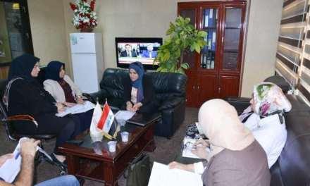 لجنة النوع الاجتماعي في وزارة التعليم العالي والبحث العلمي تعقد اجتماعها الاول